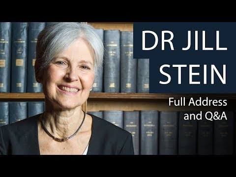 Dr Jill Stein | Full Address and Q&A | Oxford Union