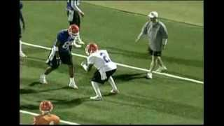 University of Florida WR release drill