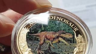 Age of dinosaurs coin collection - The T-Rex