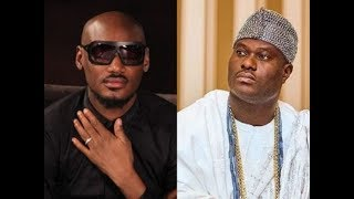 Watch 2Face Singing For The Ooni of Ife In His Beautiful Palace