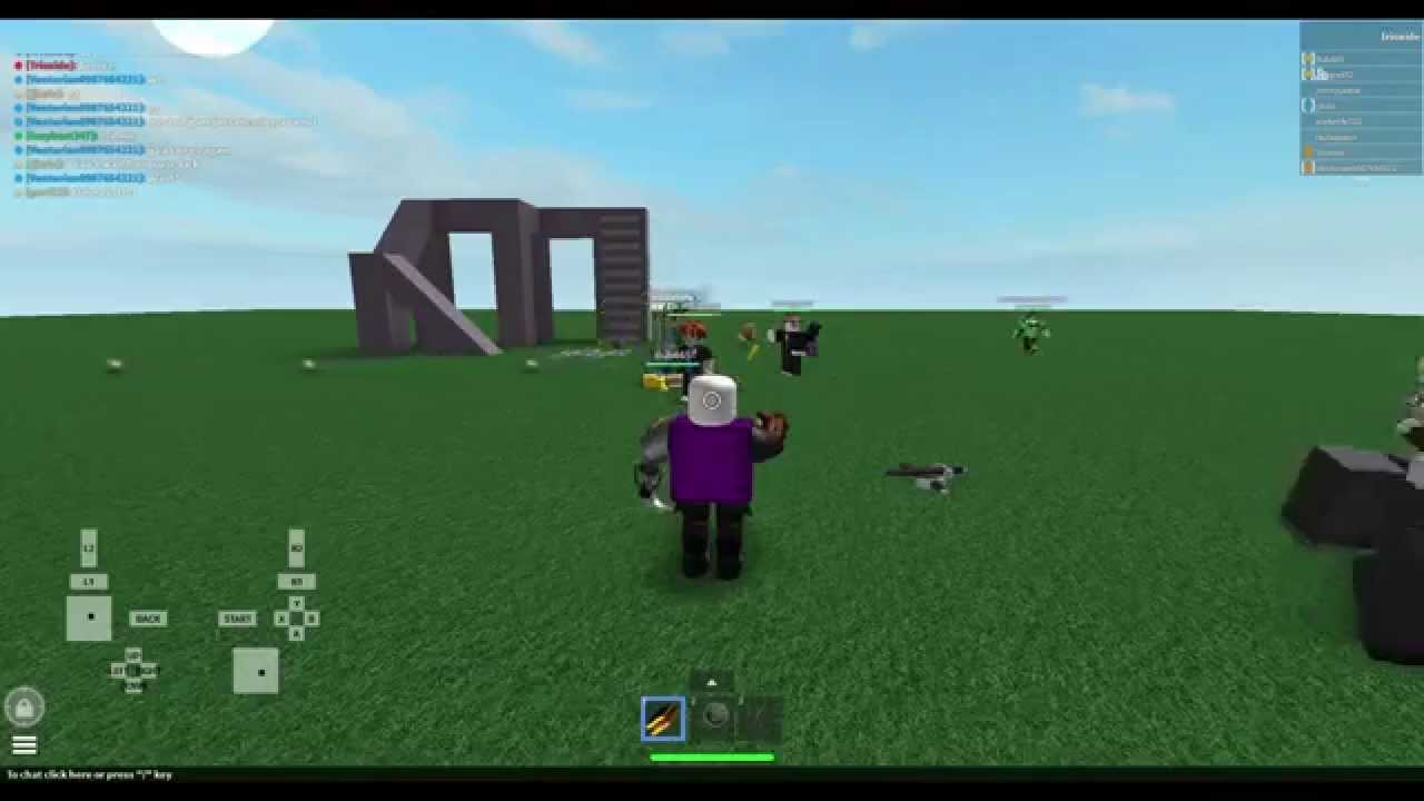 Roblox Xbox 360 Controller Demo Youtube