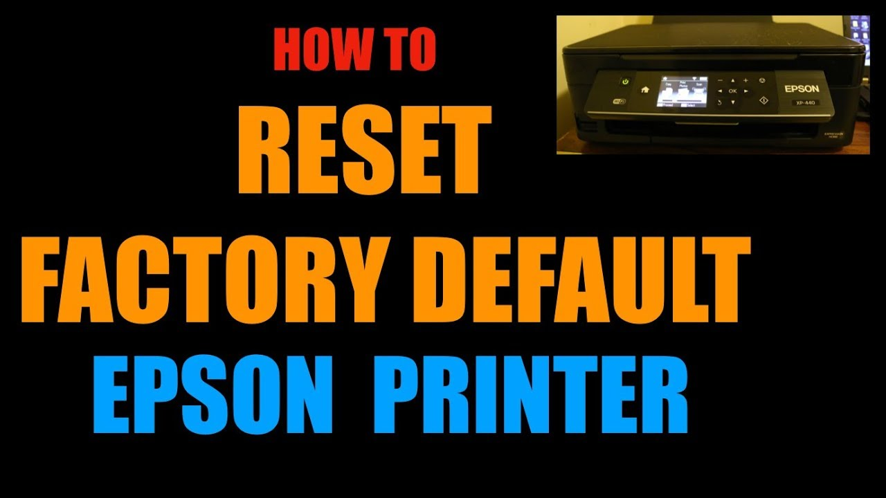 The Ultimate Guide to Resetting Printers (by Reset Type and