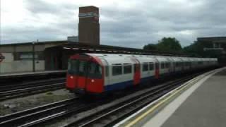 London Underground Trains At Chiswick Park 05/09/2009.