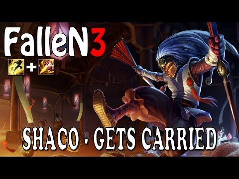 FalleN3 - How NOT to play Shaco! (Get Carried)