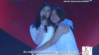 HD JKT48 Kimi to Boku no Kankei Melody Graduation Concert TV Ver 180513