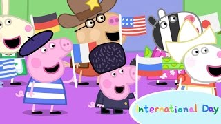 Peppa Pig- International Day Song, Countries Flags and Names