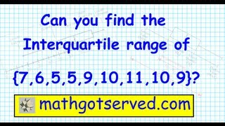 How to find the Range Median Interquartile Range Box and Whisker Cuartiles Plot Statistics