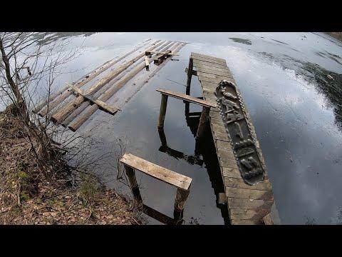 Что это за ЖУТКИЕ РИСУНКИ я нашел у озера в лесу?