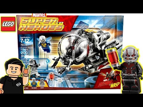 LEGO Marvel QUANTUM REALM EXPLORERS Set 76109 Review Antman and the Wasp