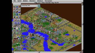 Classic Games 2: SimCity 2000 (New YouTube City Pt.8) Yes, I know I'm Quiet