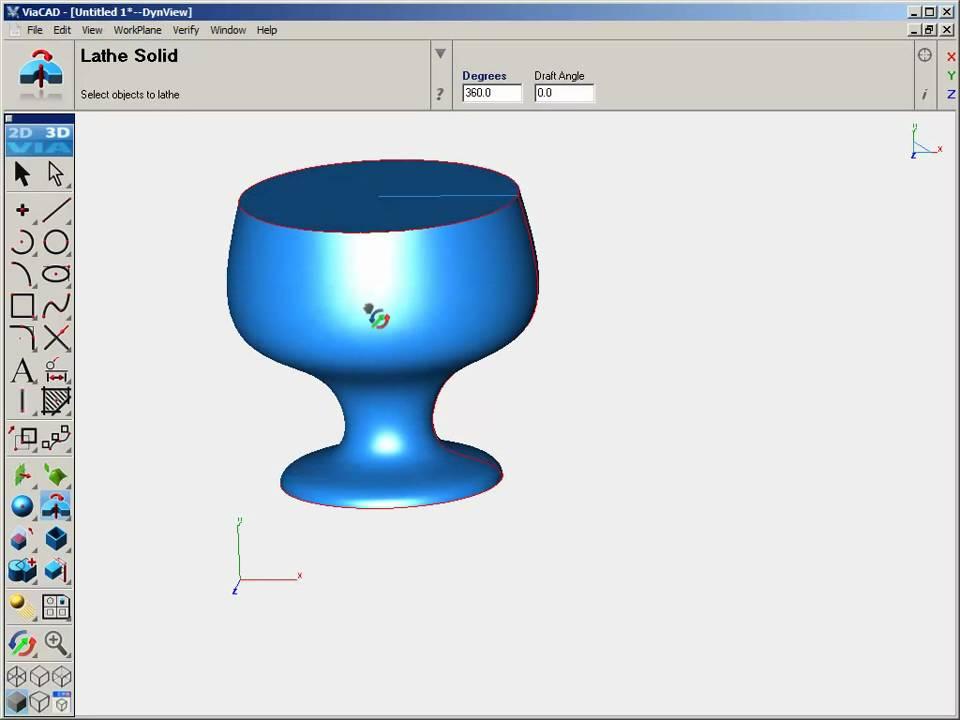 ViaCAD 2D/3D V7 Demo - YouTube
