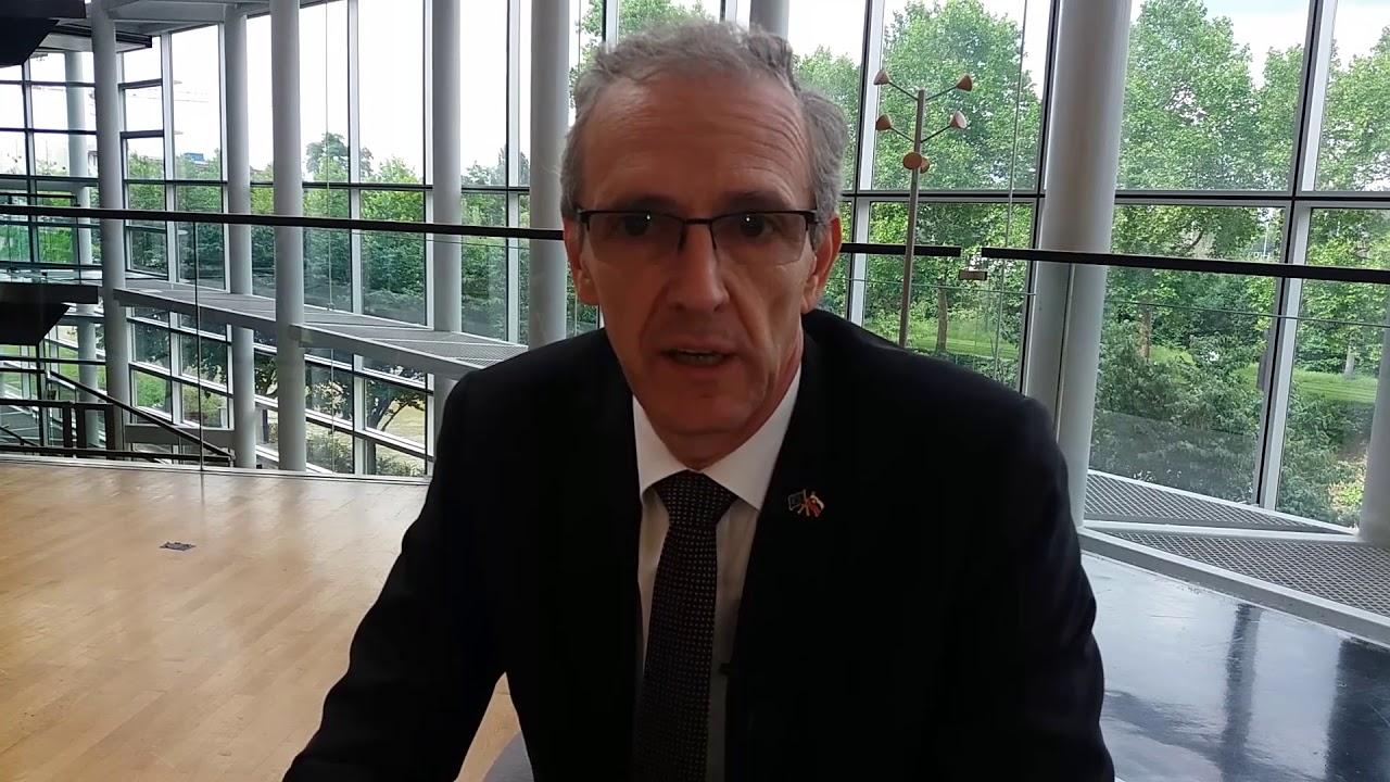 Ivan Štefanec MEP sends solidarity message to #FreeIran2018 convention