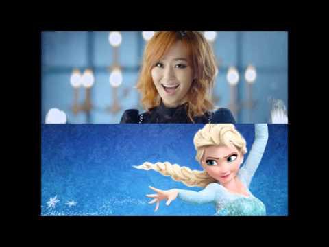 Hyorin - Let It Go [Frozen Korean version] (Speed up)