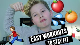 HOW TO STAY FIT AND HEALTHY!
