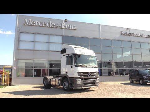 2018 Mercedes-Benz Actros 3 1841 LS OPTIMUS. Обзор.