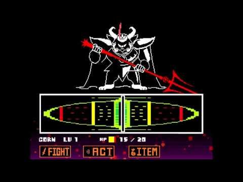 Battle Against Asgore Dreemurr   (Undertale Pacifist Playthrough)