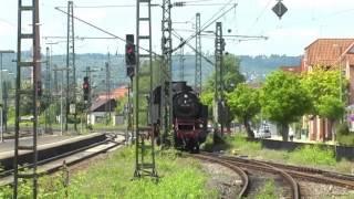 Schwäbische Waldbahn mit der BR 64 (Bubikopf) und BR 212 (V100) am 17.05.2012