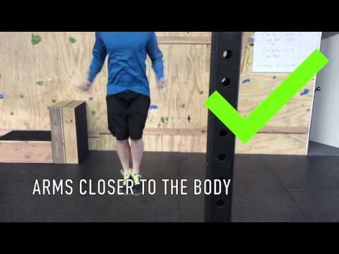 Arms Away From The Body Vs Arms in Close