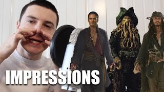Pirates of the Caribbean Impressions