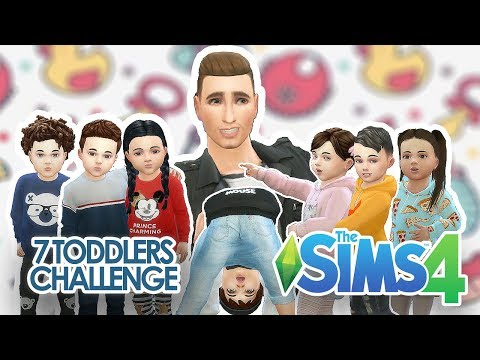 The Sims 4: 7 Toddler Challenge #Dzień 1 w/ Tula