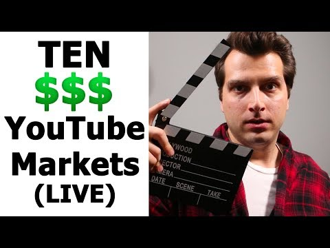 (LIVE) 10 Money-Making YouTube Affiliate Niche Markets for 2018 (+$300 giveaway!)