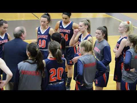 Norfolk Academy Girls  Varsity Basketball 2018-2019