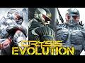Evolution of Graphics CRYSIS series