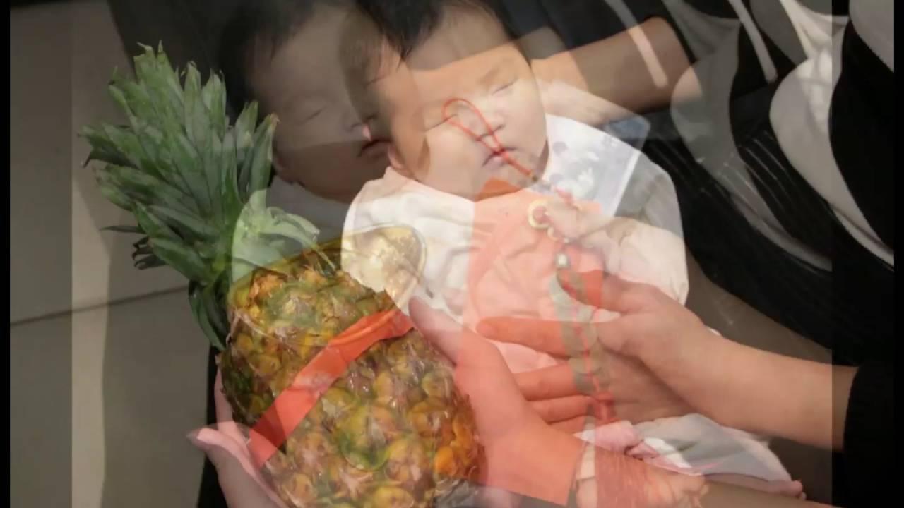 1015 劉寶寶2015 12 02(臍帶印章,臍帶章,肚臍印章,肚臍章,嬰兒三寶,胎毛筆,胎毛章,臍髮章,乳牙章) - YouTube