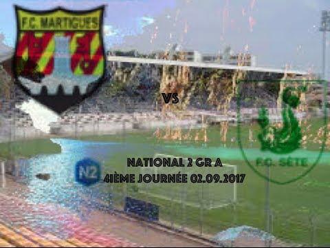 Résumé FC Martigues FC Sète 02 09 17