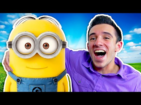 I MET A MINION IN REAL LIFE! (From Despicable Me 3!)