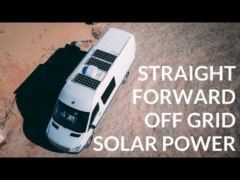 VAN TOUR | OUR AMAZING SOLAR POWER SET UP | OFF GRID SPRINTER VAN