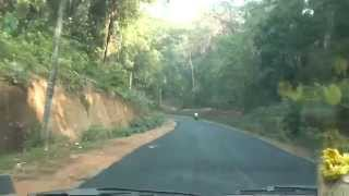 Kukke Subramanya temple to Dharmasthala - Road view