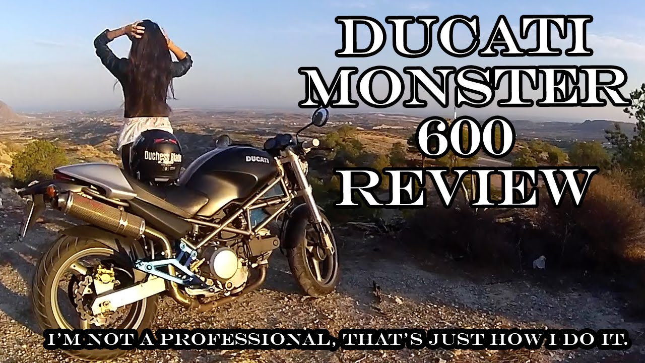 ducati monster 600 (2001) review   ride with me - youtube