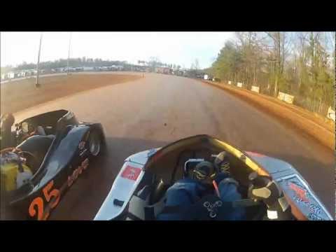 #57 Mason Swaney - Dawgwood Speedway - Kart Racing