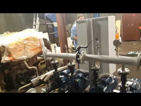 Промышленная насосная установка