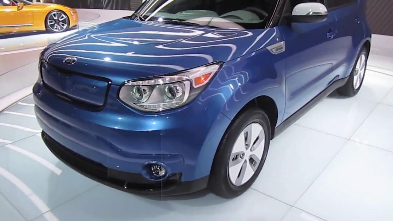Kia Soul Ev Electric Vehicle Review Youtube