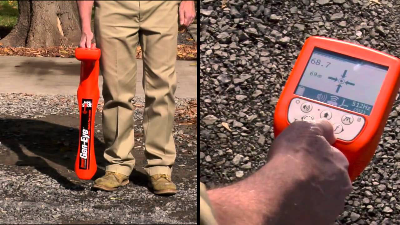 Gen Eye Hot Spot Pipe Locator Quickly Locate Underground