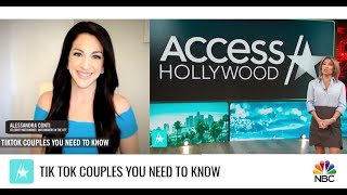Tik Tok Couples You Need To Know: Celebrity Matchmaker on Access Hollywood