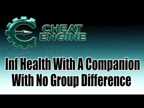 Game Hacking: Inf Health For Companion With No Group Difference