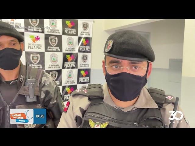 Dois homens são presos co drogas em Bayeux e Santa Rita - Tambaú da Gente Noite