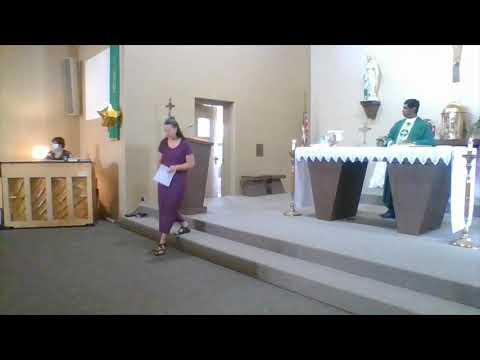 Thorp Catholic School Reopening mass