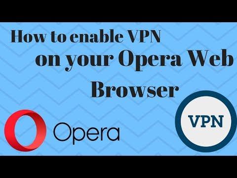 Best Free VPN solution using Opera Web Browser