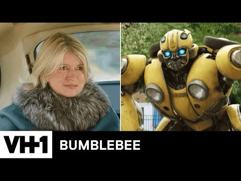Bumblebee (2018) | Driving Miss Martha: Smalltalk w/ a Transformer | VH1