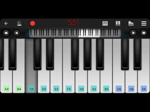 Sketch   Theme   Piano tutorial   My piano