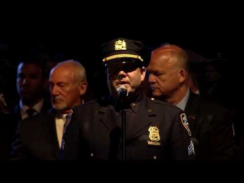 "National Law Enforcement Officers Memorial Candlelight Vigil 2018 ""Bring Him Home"" Les Miserables"