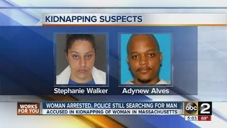Woman wanted for Mass. kidnapping arrested in Maryland