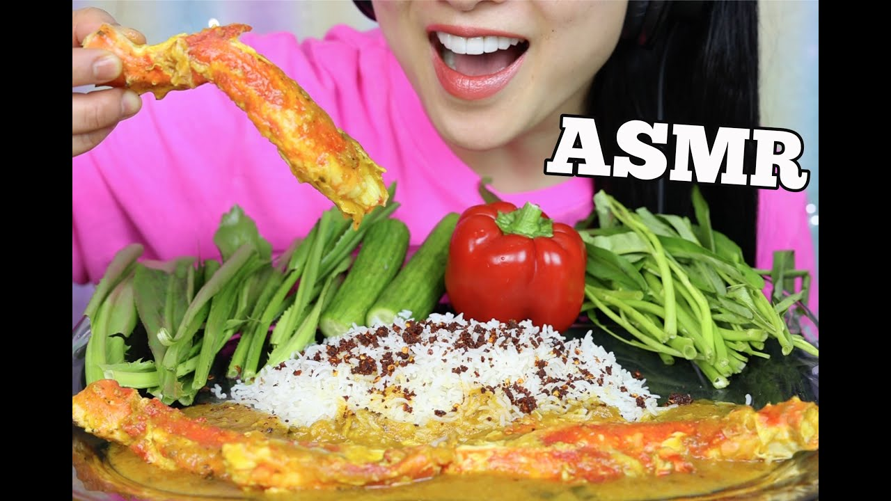 Asmr King Crab Curry Eating Sounds No Talking Sas Asmr Youtube Asmr (autonomous sensory meridian response) is a euphoric experience identified by a tingling sensation that triggers positive feelings, relaxation and focus. asmr king crab curry eating sounds no talking sas asmr