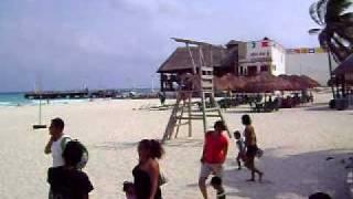 de paseo en playa del carmen