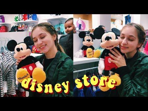 Πήγα στο κατάστημα της Disney (Munich Vlog #1)
