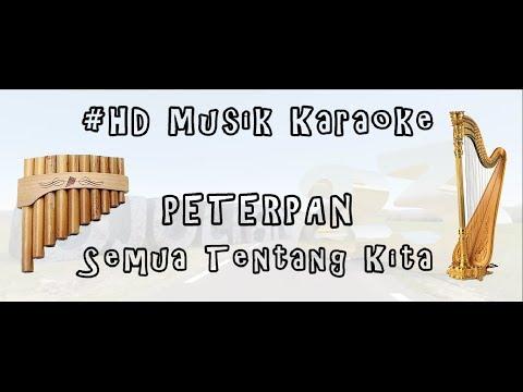 PETERPAN - SEMUA TENTANG KITA | HD MUSIK KARAOKE (FLUTE & HARP) COVER